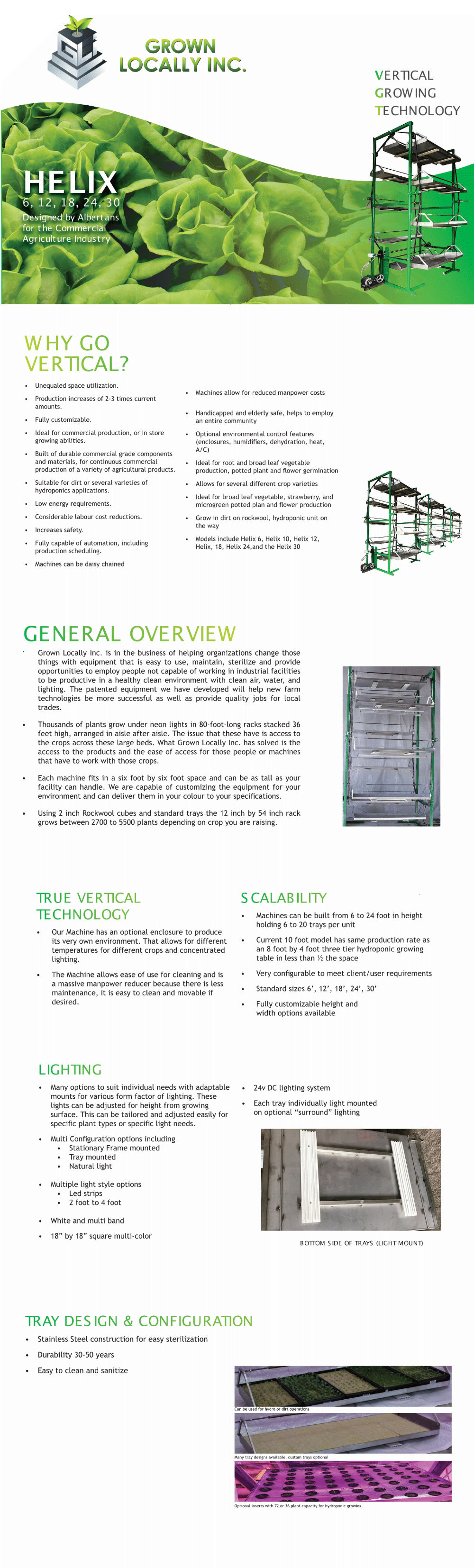 vertical growing machine automated greenhouse indoor plant